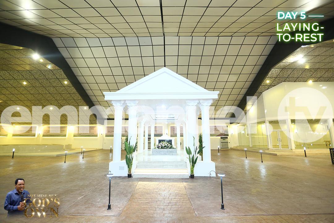 See photos of late T.B Joshuas Mausoleum