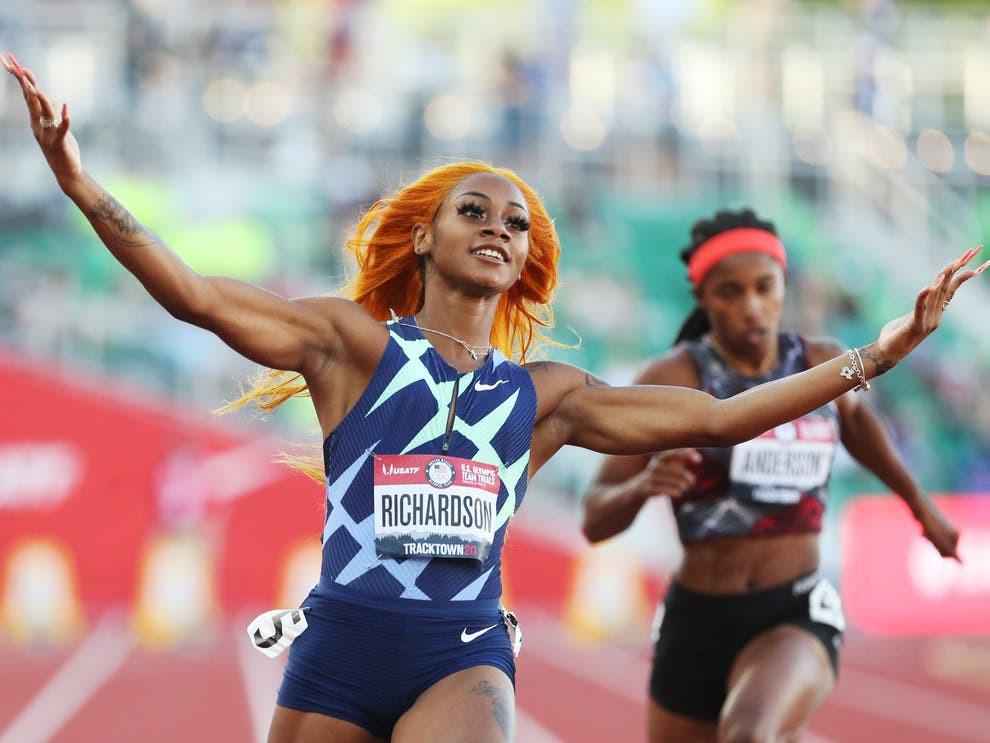 ShaCarri Richardson left out of USA Tokyo Olympics team after marijuana ban