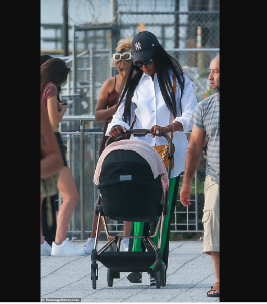 Supermodel Naomi Campbell 50 is seen in public 4