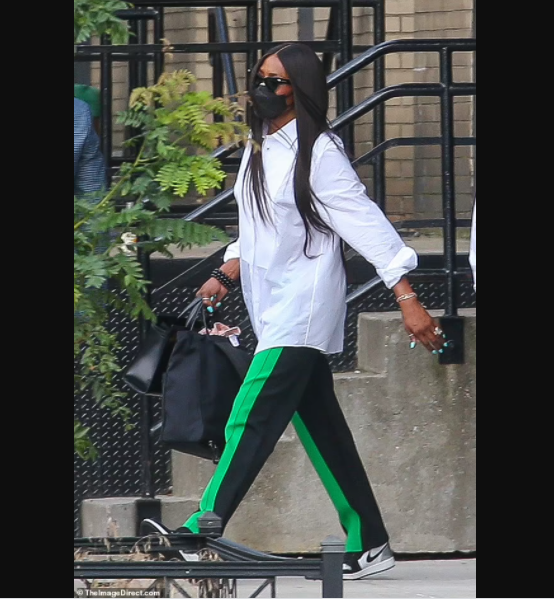 Supermodel Naomi Campbell 50 is seen in public 5