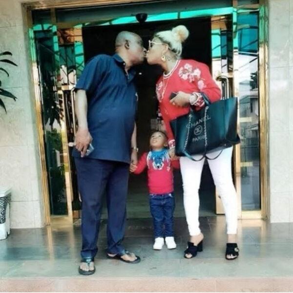 Tonto Dikeh celebrates her father on his 73rd birthday