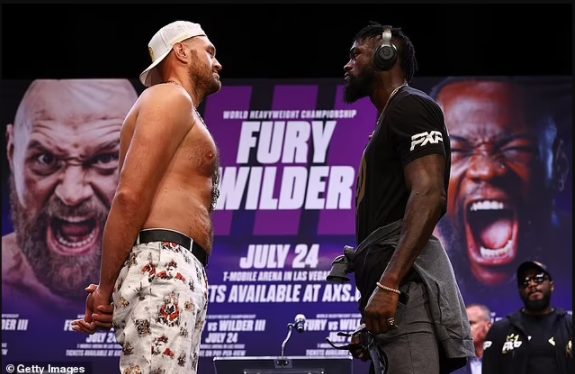 Tyson Fury tests positive for Covid 19 1
