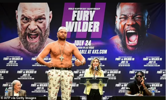 Tyson Fury tests positive for Covid 19