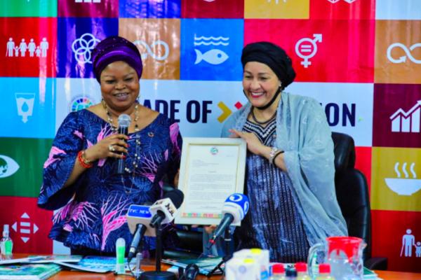UN Dep. Sec Gen commends Orelope Adefulire 1