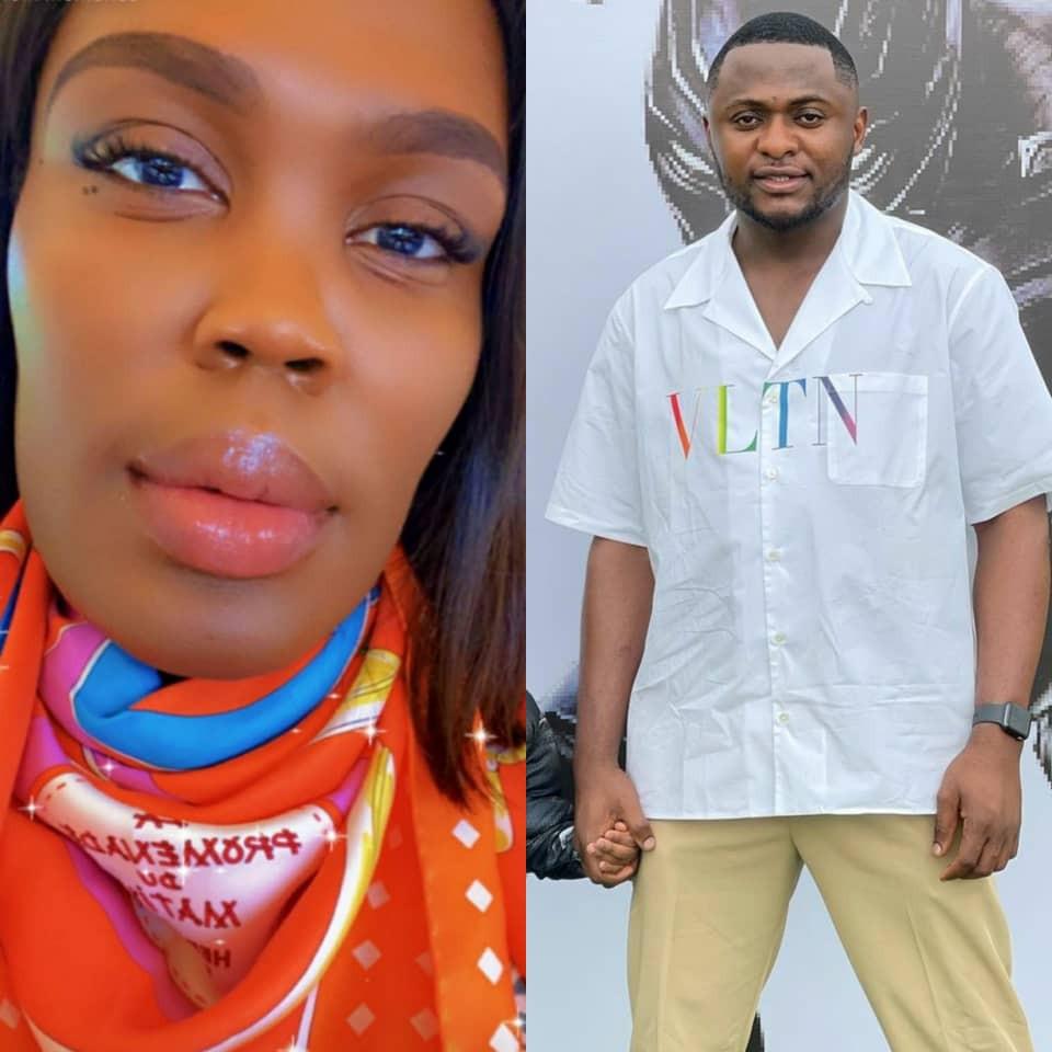 Ubi Franklin drags luxury shopper London Gbajumo