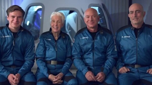 Worlds richest man Jeff Bezos rockets to space today