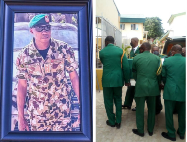 army commander laid to rest