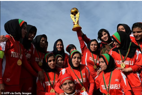 Afghanistan womens national football team are successfully evacuated from Kabul