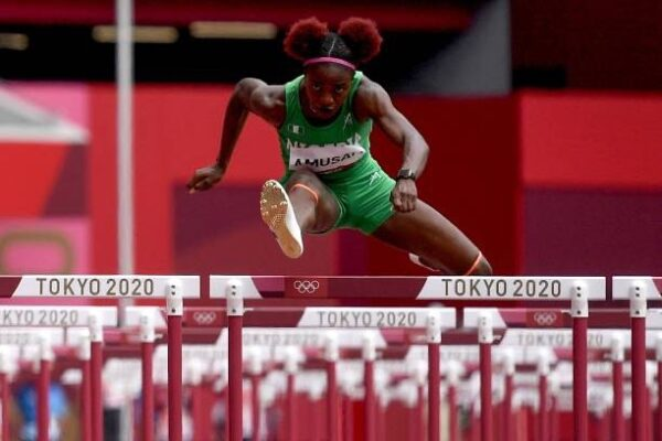 Amusan misses out on medal in 100m hurdles