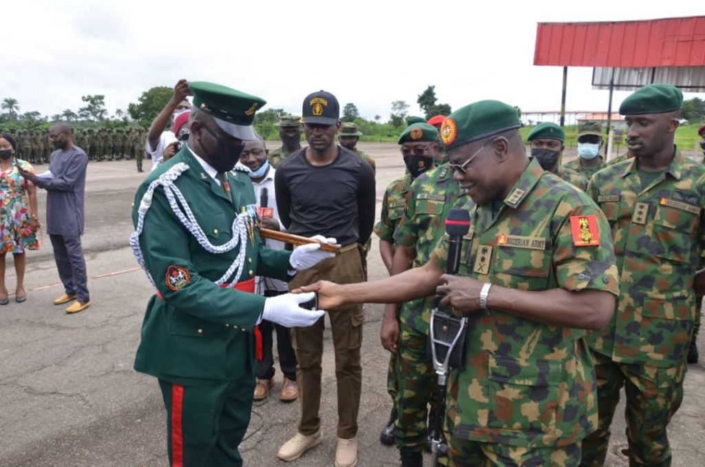 COAS lauds troops charges them to exhibit competence gallantry