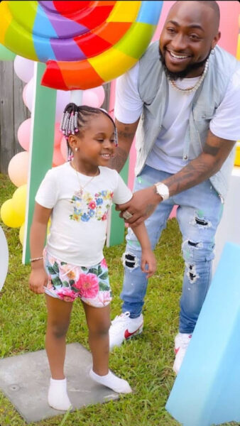 Davido shares hilarious conversation he had with his second daughter