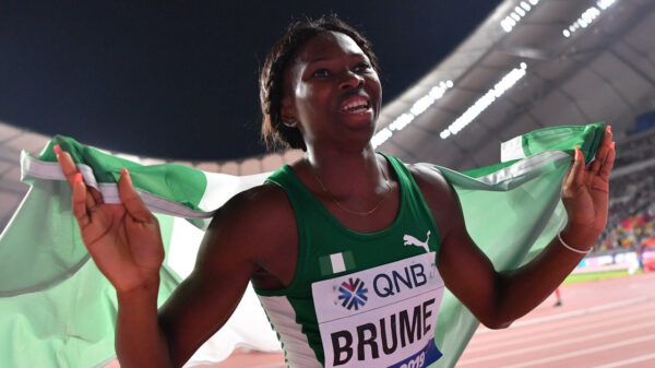 Ese Brume wins Nigerias first medal at Tokyo Olympics