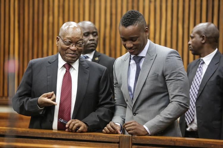 Jacob Zumas son Duduzane Zuma