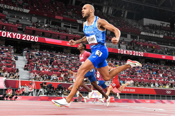 Lamont Marcell Jacobs wins 100 m Olympic