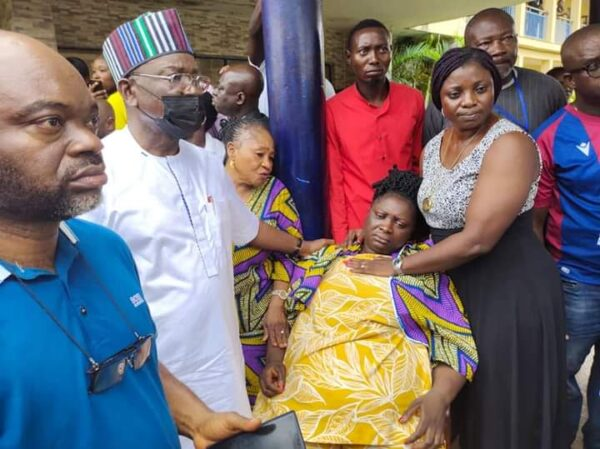 Ortom orders demolition of house his aides wife was rescued