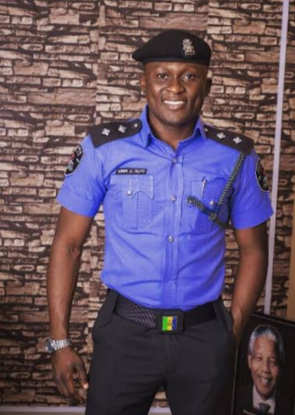 Popular police officer Aliyu Giwa expresses gratitude to God after surviving two ghastly car accidents in one day