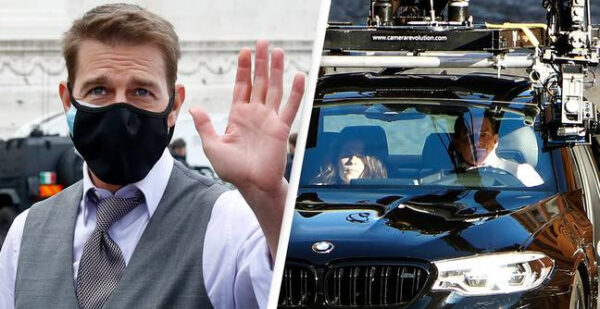 Tom Cruise loses thousands of pounds worth of luggage as thieves steal his bodyguards BMW in Birmingham
