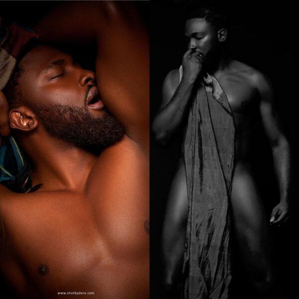 Uti Nwachukwu releases risque photos to mark his birthday