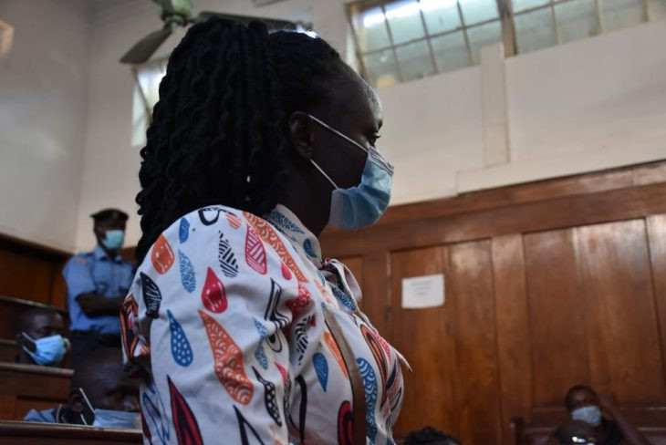 Woman in court for strangling neighbour using bra