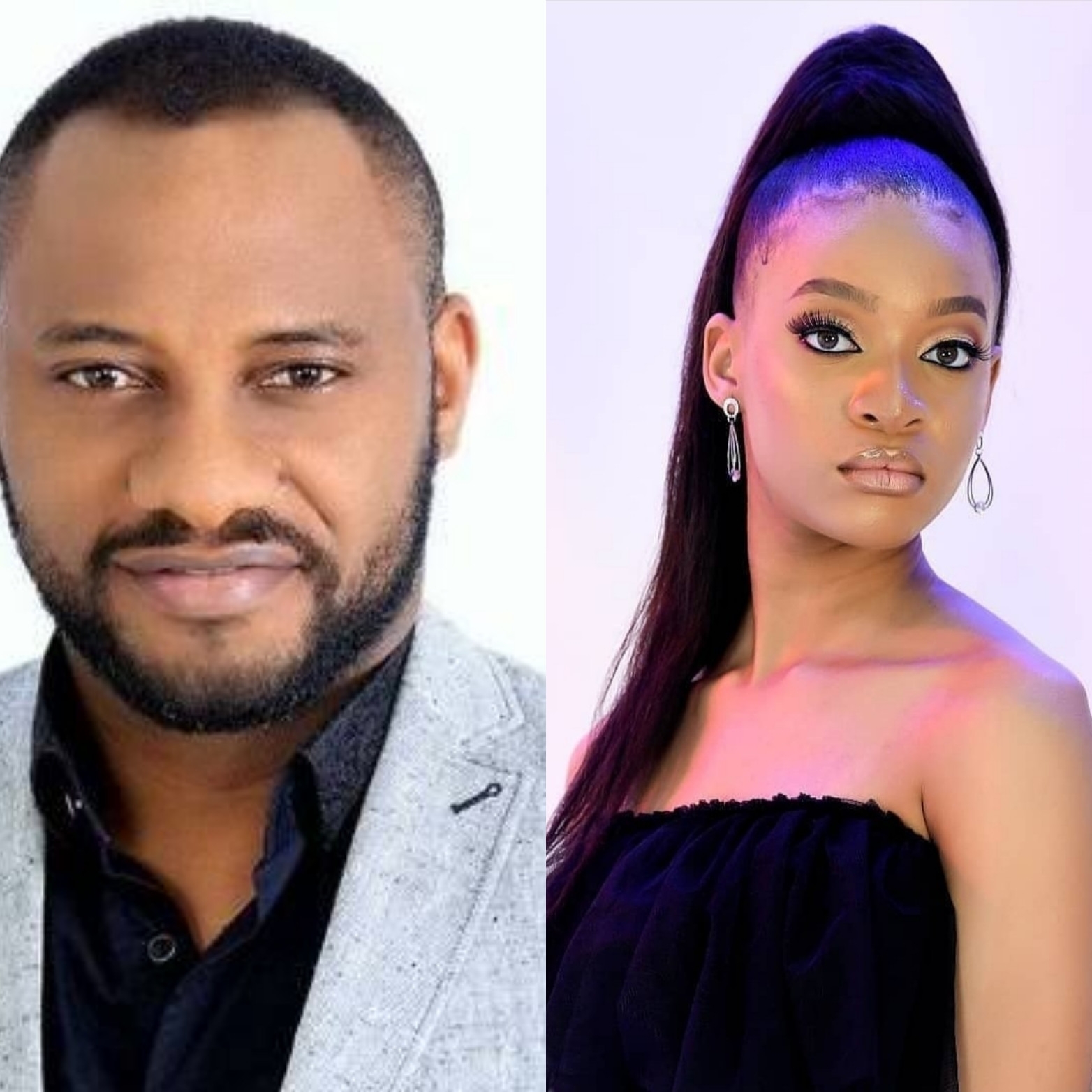 Yul Edochie hails his daughter