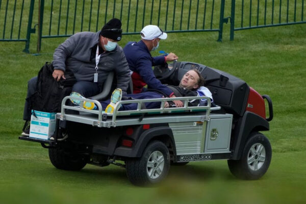 Harry Potter star Tom Felton collapses during celebrity golf tournament