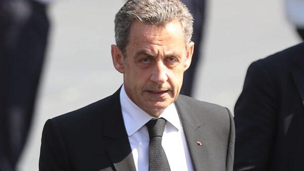 Former president Sarkozy