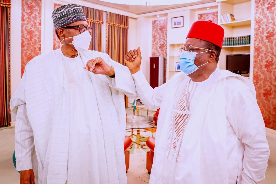 God will give us the next president who has a good heart like Buhari Says Governor Umahi
