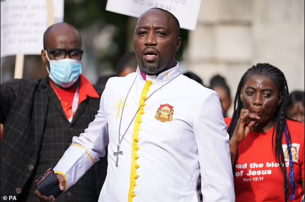 Pastor charged in the UK