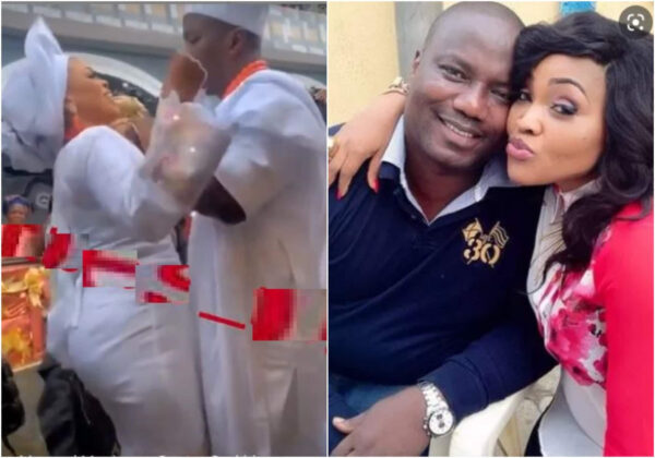 Still nobodys ex Mercy Aigbe writes as ex husband Lanre Gentry expresses excitement after marrying a new wife