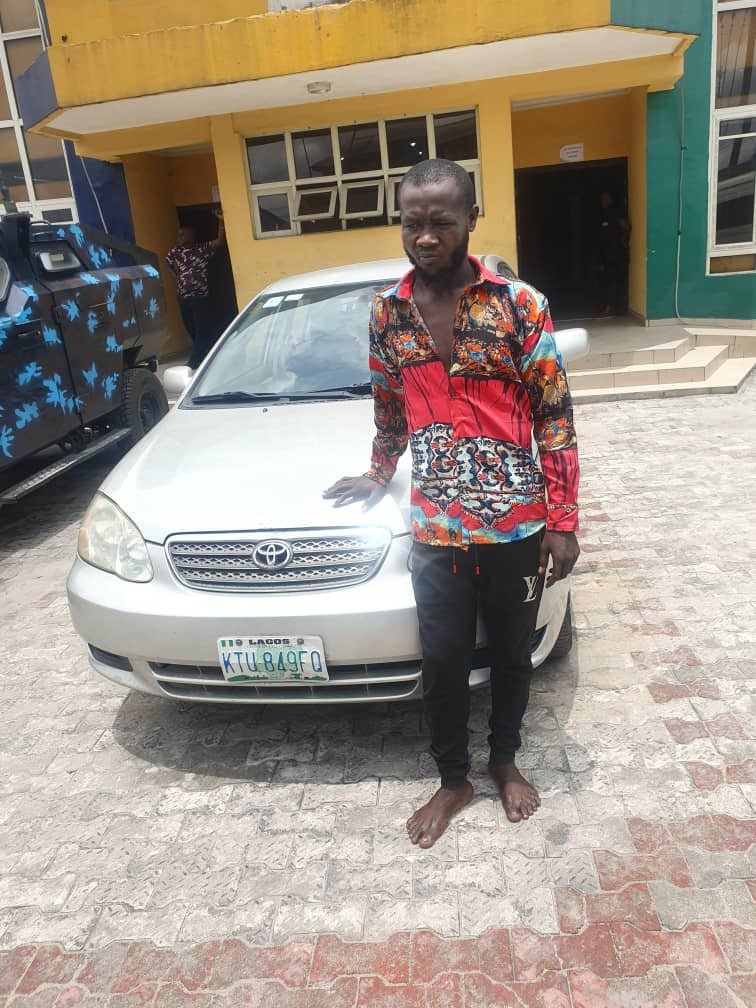 Suspect arrested as Rivers police smash notorious car snatching syndicate that specialised in robbing Bolt Uber drivers