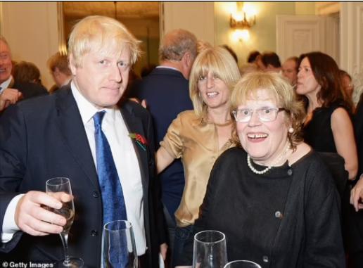UK prime minister Boris Johnsons mother Charlotte Johnson dies