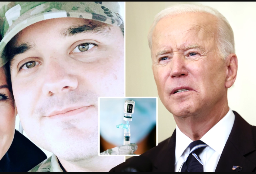 US Lieutenant Colonel resigns over Bidens tyrannical vaccination mandate