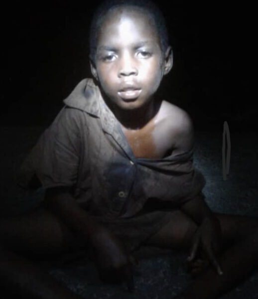 7 year old boy abandoned over alleged witchcraft rescued in Akwa Ibom