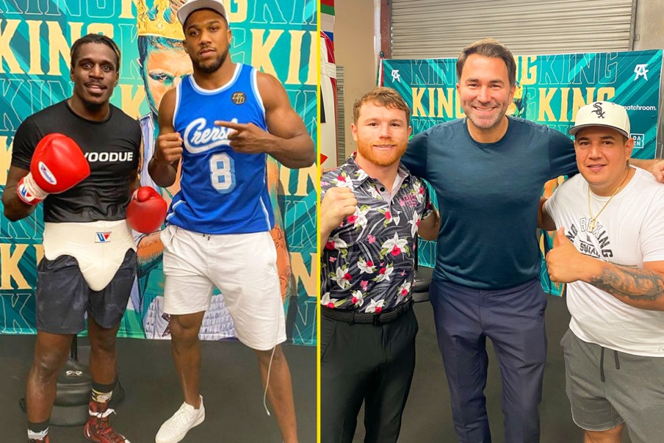 Anthony Joshua to change his coach for Oleksandr Usyk rematch