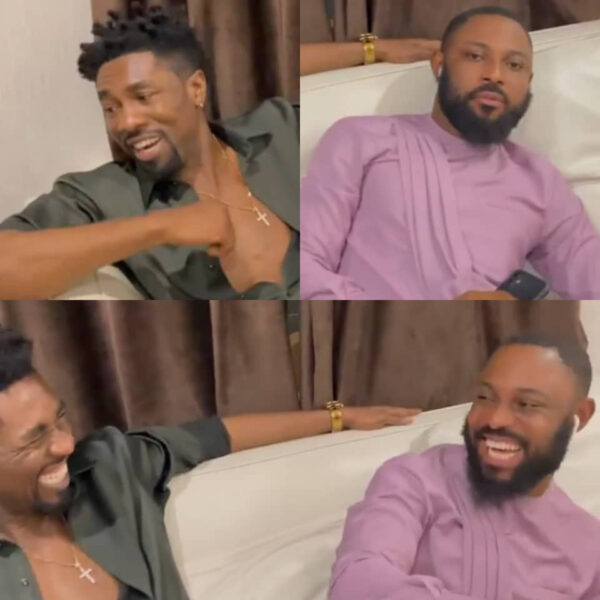 BBNaija star Boma and Tegas husband Ajeboh all smiles as they hang out video