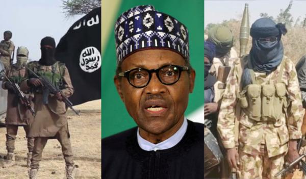 Boko Haram President Muhammadu Buhari and Bandits