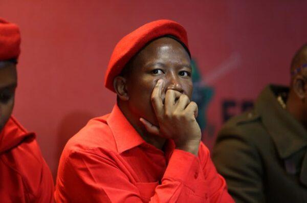 EFF leader Julius Malema 1