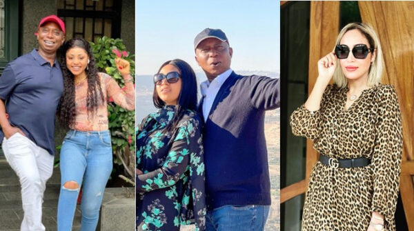 Ned Nwokos wife Laila unfollows him and co wife Regina Daniels on Instagram