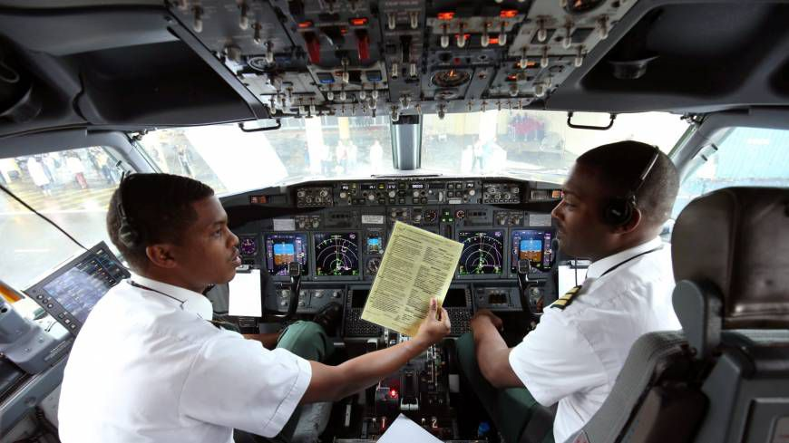 Pilots airlines will be sanctioned for letting passenger