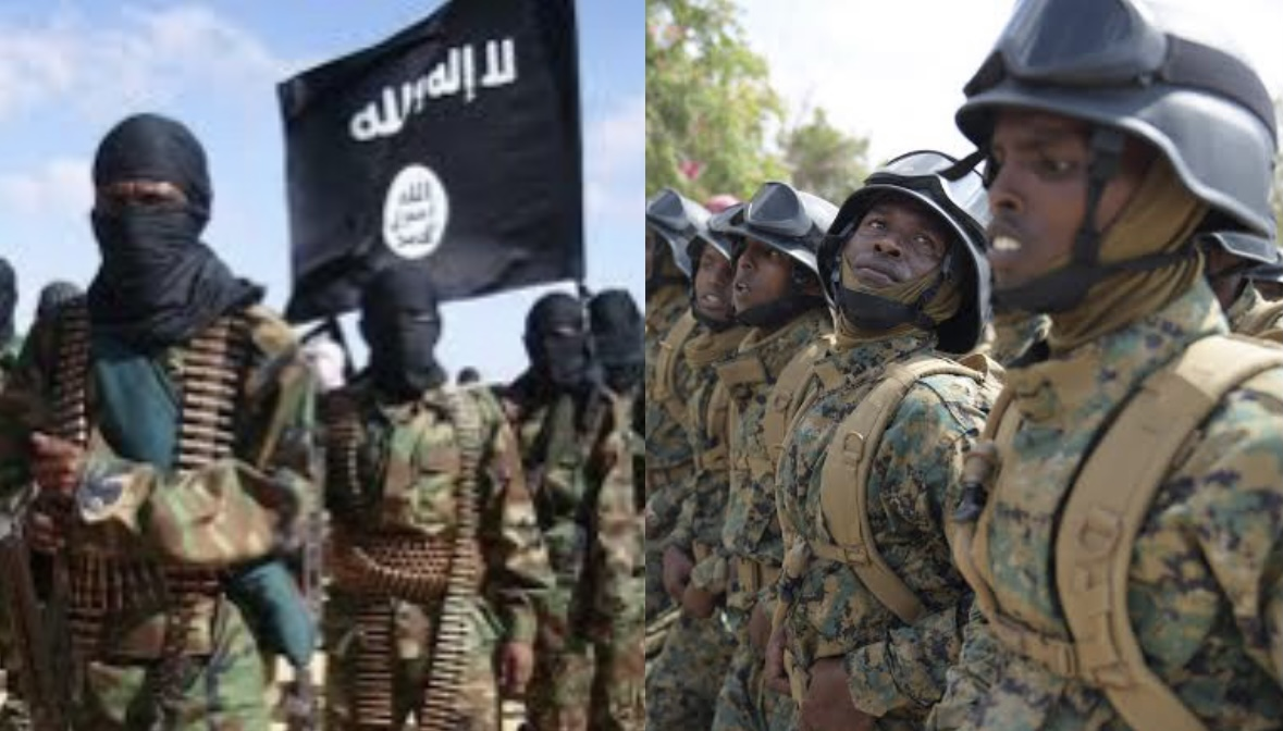 SomaliaHundred killed in Islamists soldiers shootout