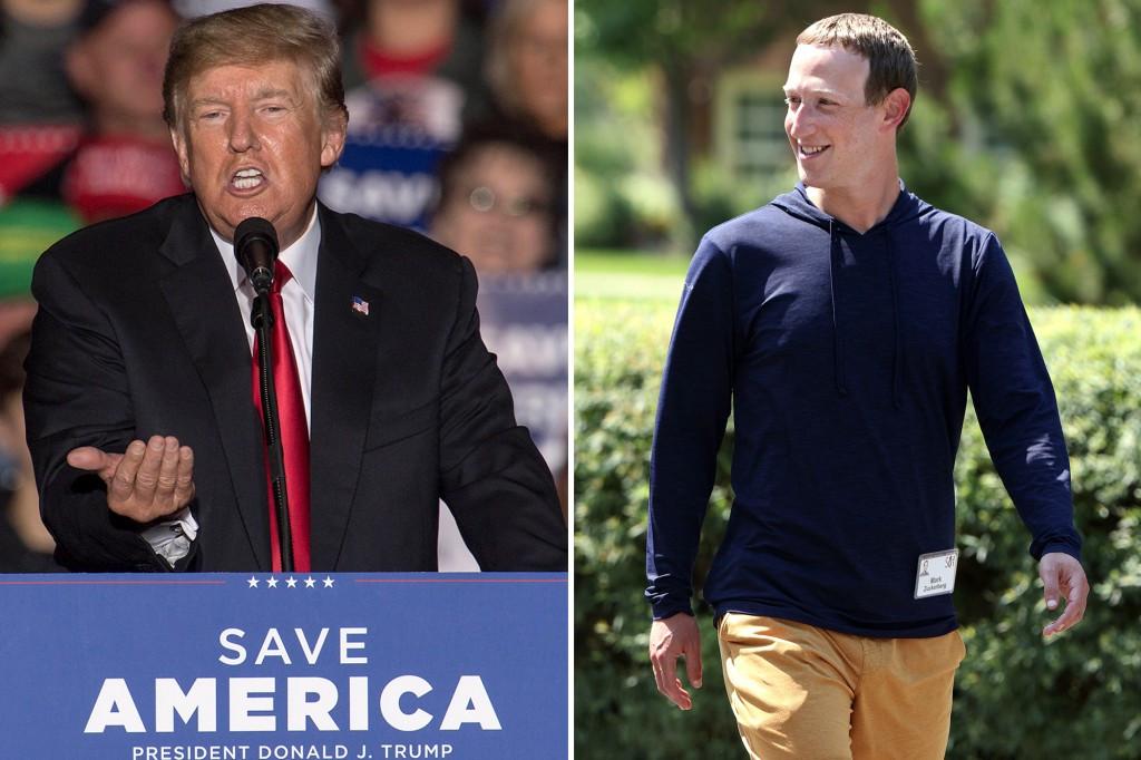 Trump calls Mark Zuckerberg a criminalTrump calls Mark Zuckerberg a criminal